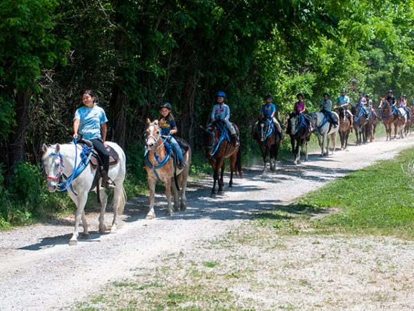 Horseback Trail Rides at Kraus Farms